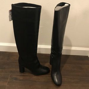 Zara Knee high boots- Black